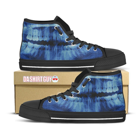 Panoramic X-ray Custom Printed High Tops