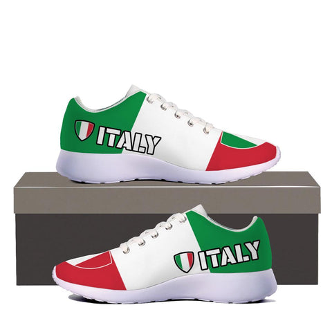 Italy Italian Flag Custom Printed Sneakers