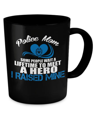 Coffee Mug - Police Mom Mug (11oz)