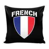 French Pride Pillow Cover (Free Shipping)