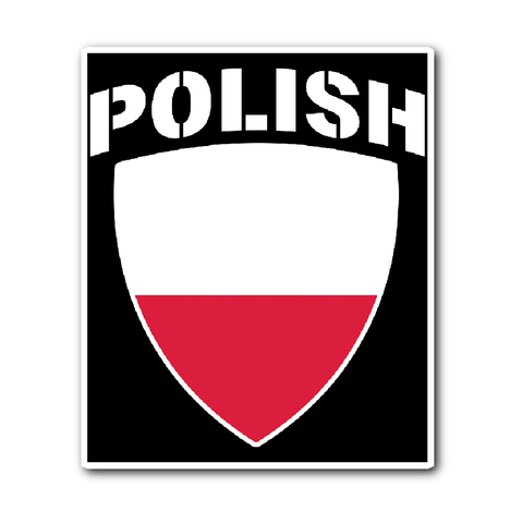 Polish Pride Vinyl Sticker (Free Shipping)