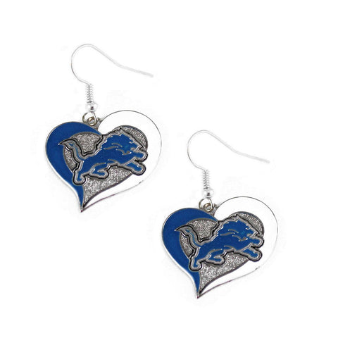 Earrings - Swirl Heart Lions Earrings