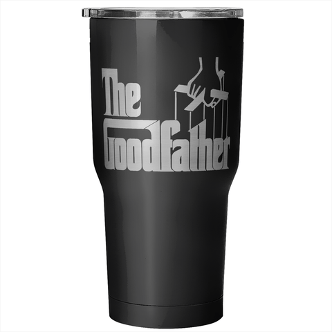 The Goodfather 30 Ounce Vacuum Tumbler