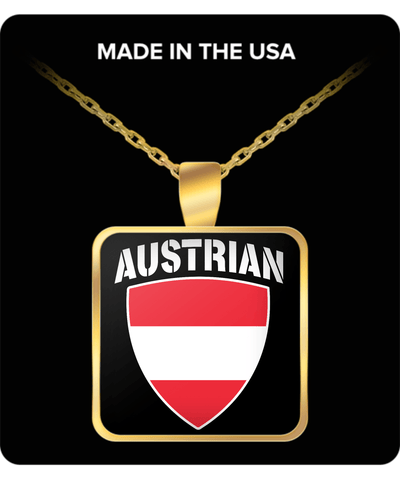 Austrian Pride Gold Plated Necklace