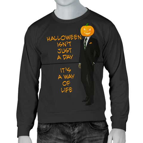 Men's Sweater Halloween is a Way of Life
