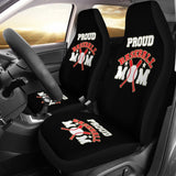 Baseball Mom Custom Printed Seat Covers (set of 2)