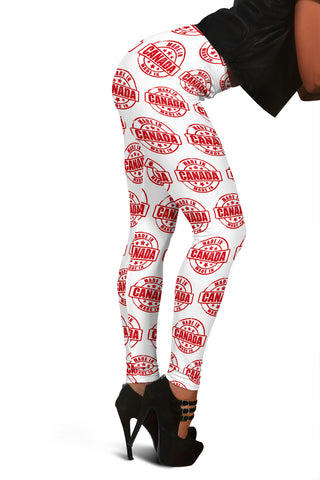 MADE IN CANADA Leggings White