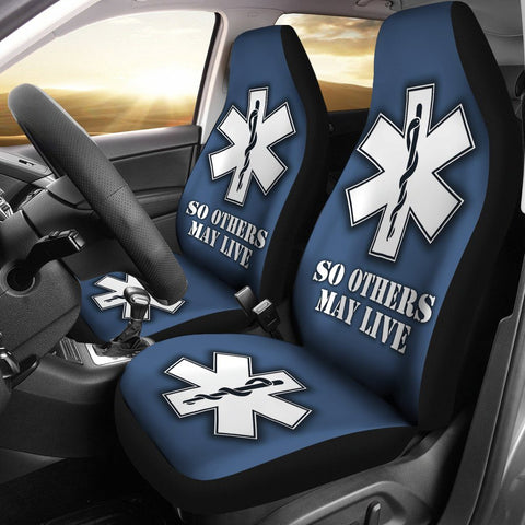 EMS Custom Printed Car Seat Covers (set of 2)