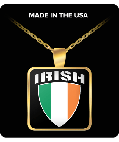 Irish Pride Gold Plated Necklace
