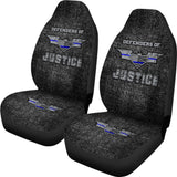 Defenders of Justice Custom Printed Car Seat Covers