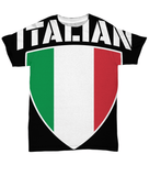 Italian Pride All Over Print Tee