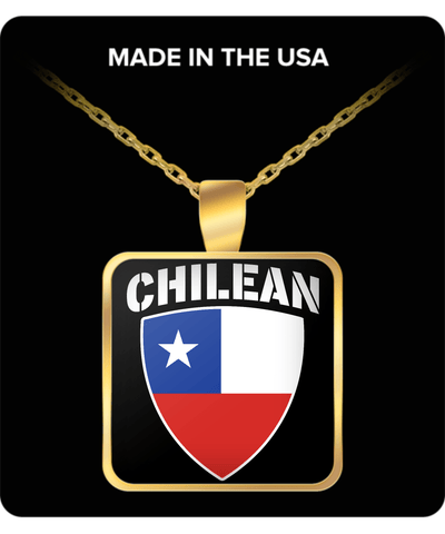 CHILEAN PRIDE GOLD PLATED NECKLACE