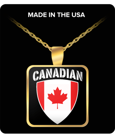 Canadian Pride Gold Plated Necklace