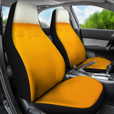 Beer Enthusiast Custom Car Seat Covers (set of 2)