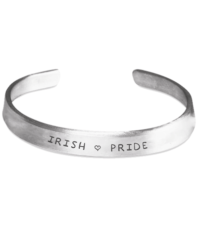 Irish Pride Stamped Bracelet