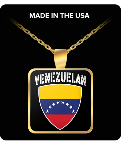 VENEZUELAN PRIDE GOLD PLATED NECKLACE