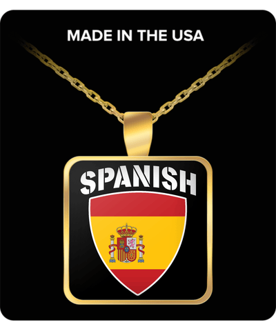 Spanish Pride Gold Plated Necklace