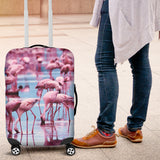 Flamingo Luggage Cover