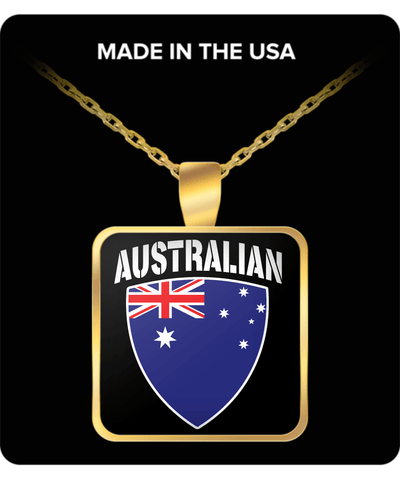 AUSTRALIAN PRIDE GOLD PLATED NECKLACE