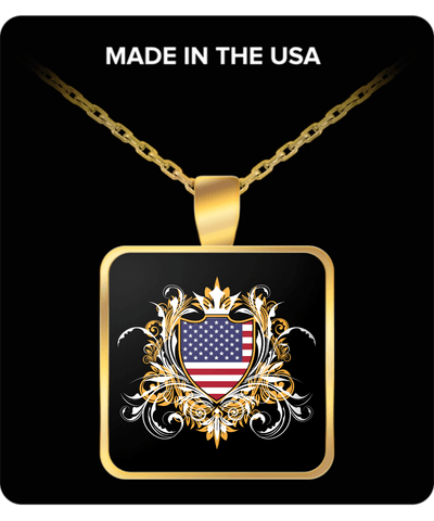 American Royalty Gold Plated Necklace