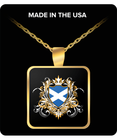 Scottish Royalty Gold Plated Necklace