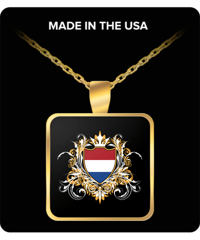 Dutch Royalty Gold Plated Necklace