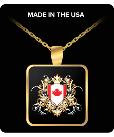Canadian Royalty Gold Plated Necklace