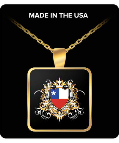 Chilean Royalty Gold Plated Necklace