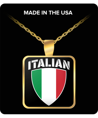 Italian Pride Gold Plated Necklace