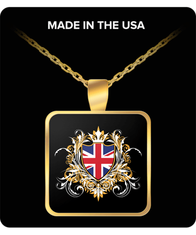 British Royalty Gold Plated Necklace