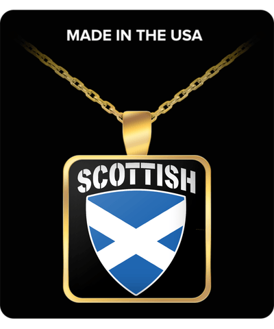Scottish Pride Gold Plated Necklace