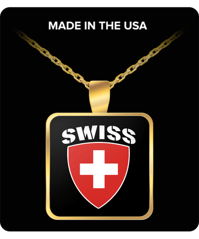 Swiss Pride Gold Plated Necklace