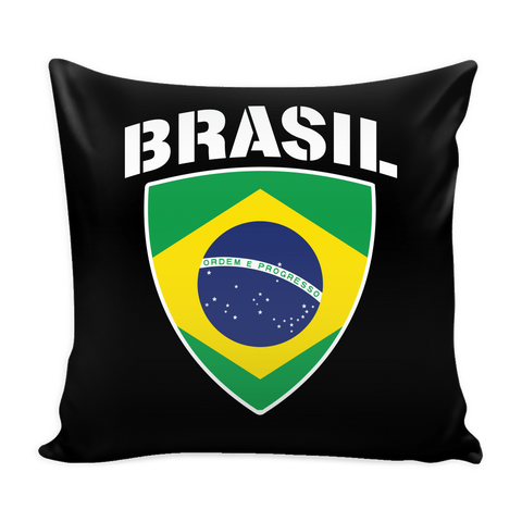 Brasil Pride Pillow Cover (Free Shipping)