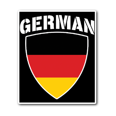 German Pride Vinyl Sticker (Free Shipping)