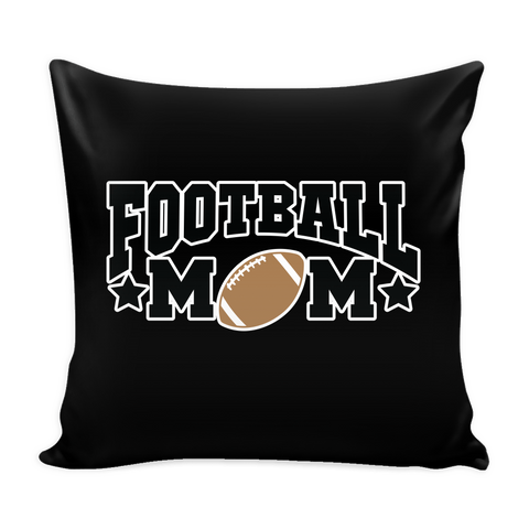 Football Mom Pillow Cover (Free Shipping)