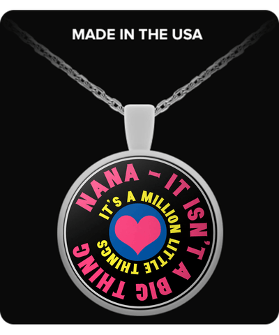 Necklace - Nana Necklace - It's A Million Little Things