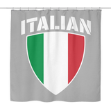 Italian Pride Shower Curtain - FREE SHIPPING
