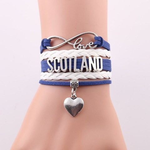 Free Infinite Love Scotland Bracelet
