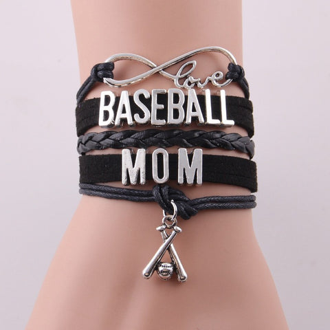 Free Infinite Love Baseball Mom Bracelet