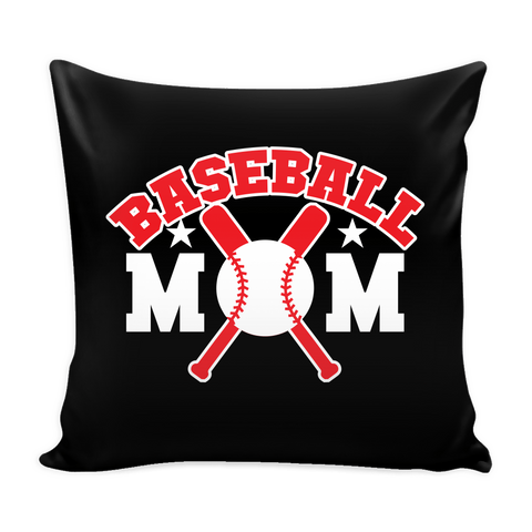 Baseball Mom Pillow Cover (Free Shipping)