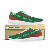 Merry Christmas Ugly Christmas Custom Printed Sneakers