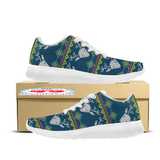 Reindeer Ugly Christmas Custom Printed Sneakers