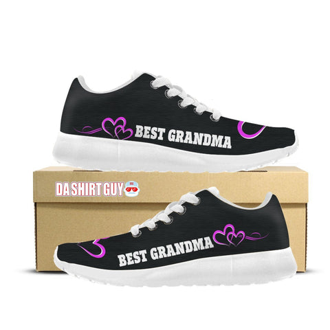 Best Grandma Custom Printed Sneakers