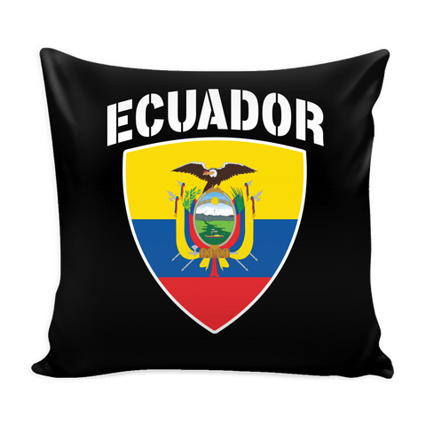 Ecuador Pride Pillow Cover (Free Shipping)