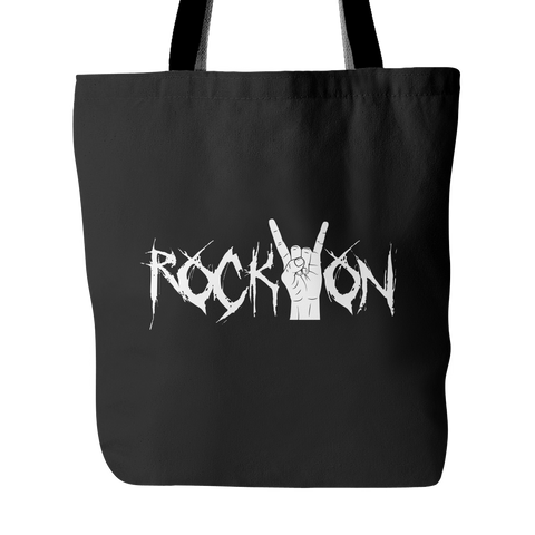 Rock On Tote Bag (Free Shipping)