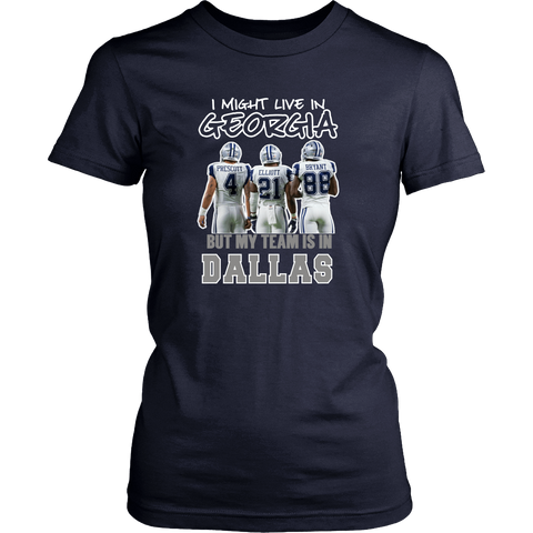 I Might Live In Georgia But Team is in Dallas