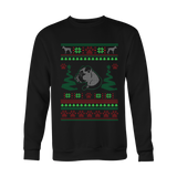 Boxer Ugly Christmas Sweater - Long Sleeve