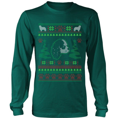 T-shirt - CAVALIER KING CHARLES SPANIEL UGLY CHRISTMAS SWEATER
