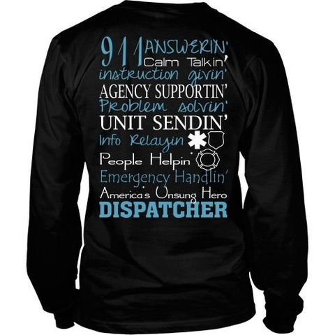 T-shirt - DISPATCHER PROUD