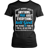 T-shirt - Don't Worry About Anything